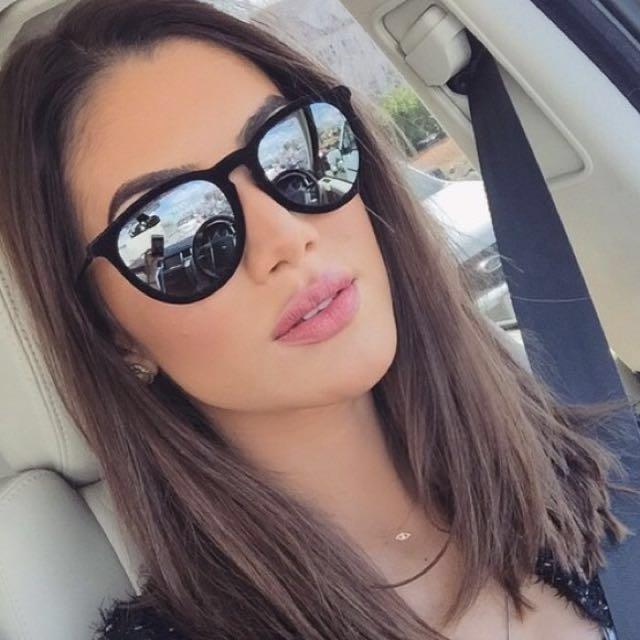 64b65c8cdf6cce  PRICE DROP - Ray-Ban Erika Velvet Mirrored Sunglasses