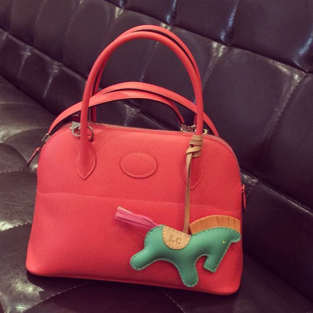 92f6e0dc280a Price drop! Hermes Bolide 27 in Rose Jaipur. Full set!