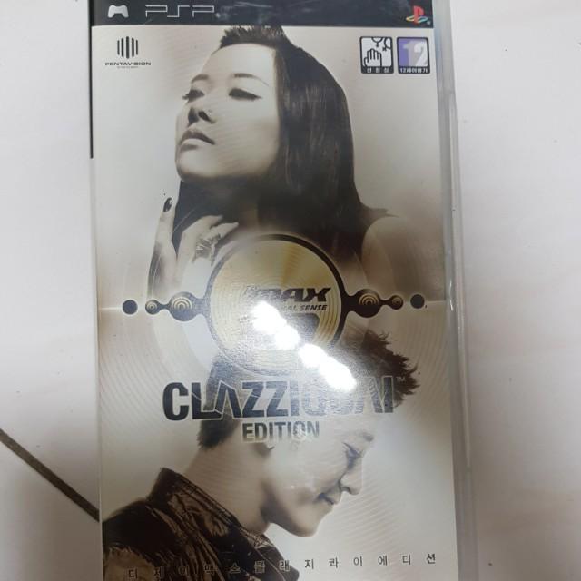 PSP DJMAX Portable Clazziquai Edition
