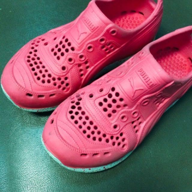 Puma橡膠鞋QQ鞋雨鞋#幫我除舊佈新