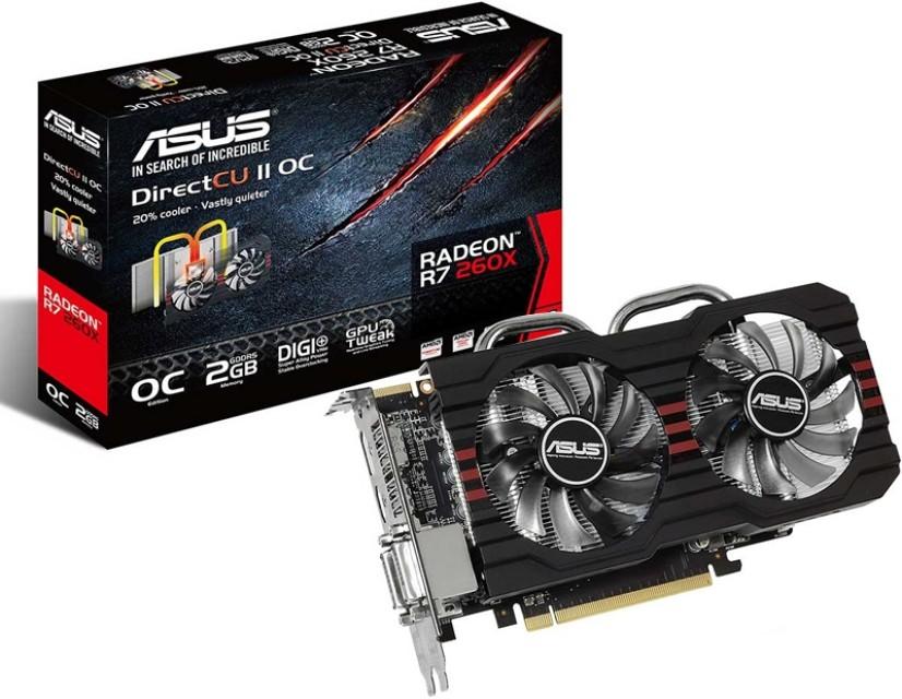 ASUS R7 260X 2GB GDDR5, Electronics, Computer Parts