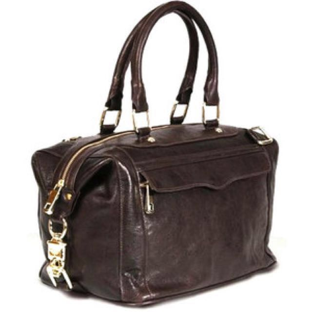 REBECCA MINKOFF Morning After Bag (MAB) in dark brown