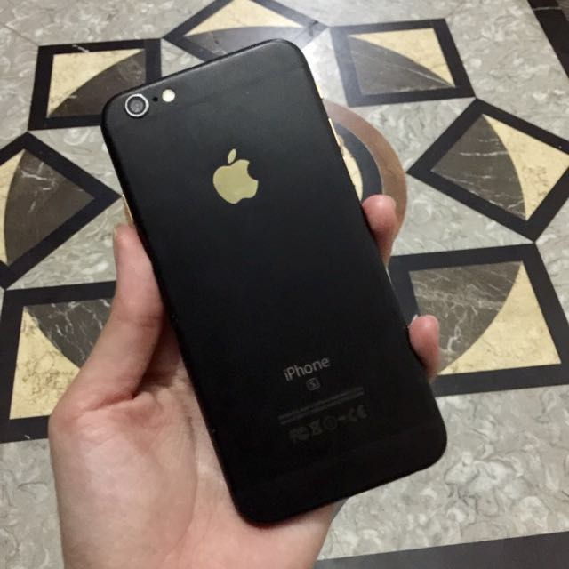 Reprice Iphone 6 128gb Black Gold