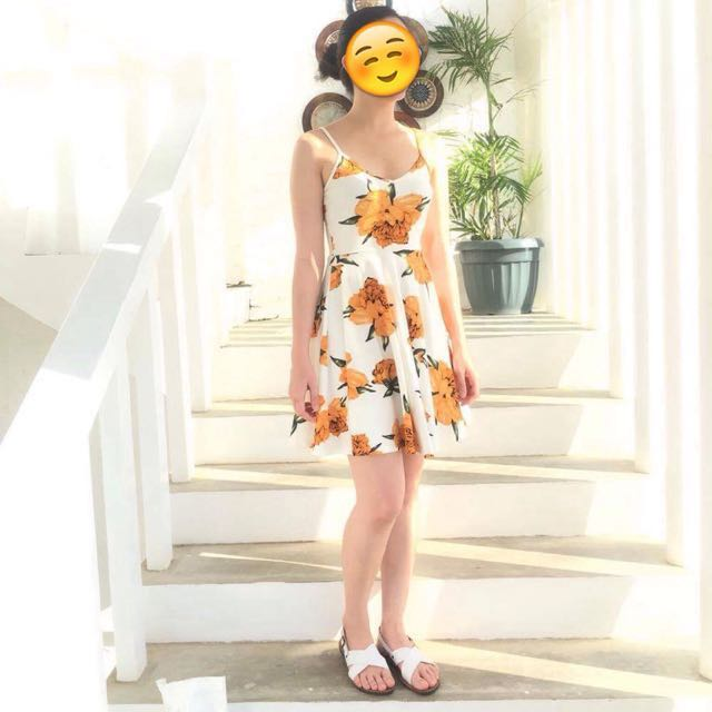 (REPRICED) Floral dress