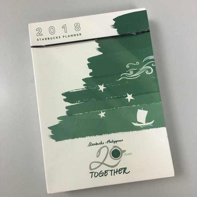 REPRICED Starbucks Planner 2018