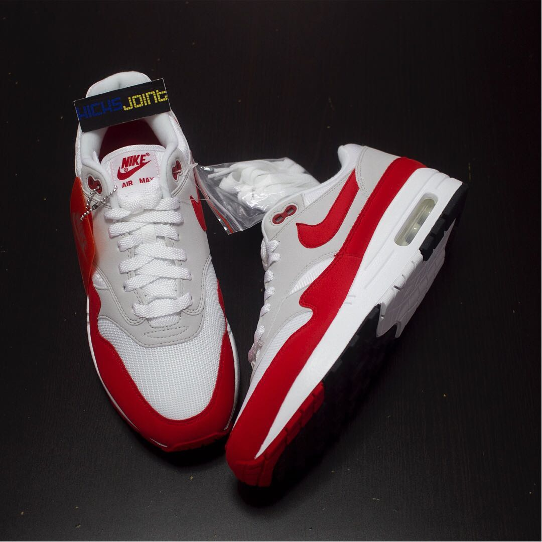 buy popular 979b4 d9bfc [RESERVED] NEW,,,Nike Air Max 1 OG Red 2017 (restock),,,US9