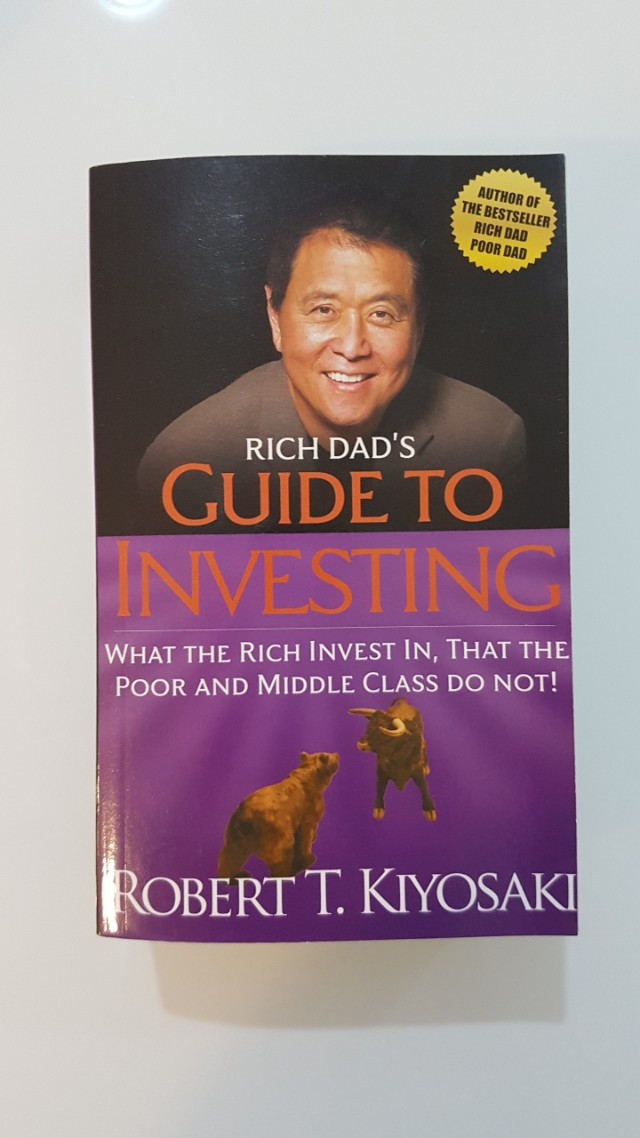 rich dad s guide to investing by robert kiyosaki books stationery rh sg carousell com rich dad's guide to investing ebook free download rich dad's guide to investing