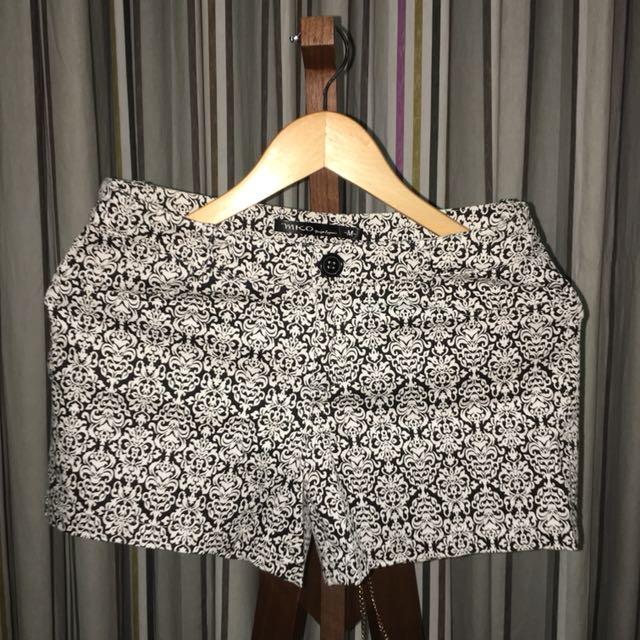 Royal Pattern Shorts