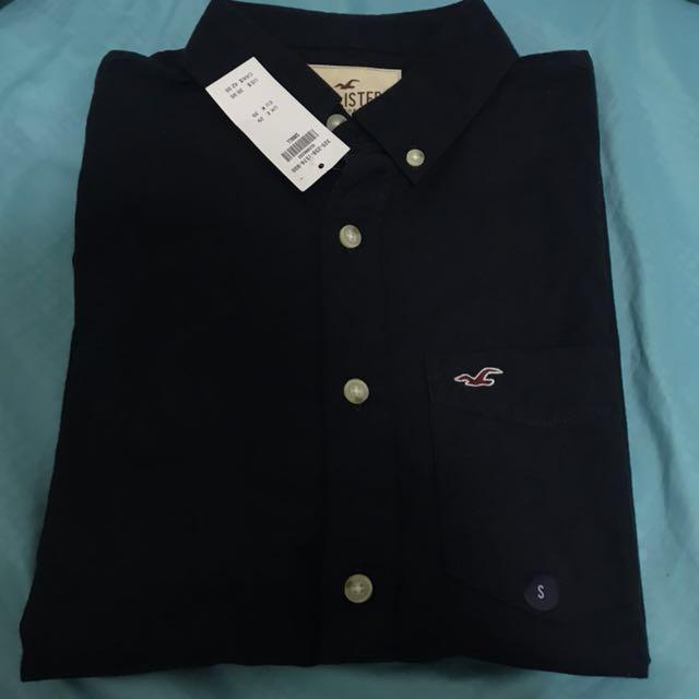 b2283b5e0bd SALES  Hollister Long-sleeved Button-up Shirt