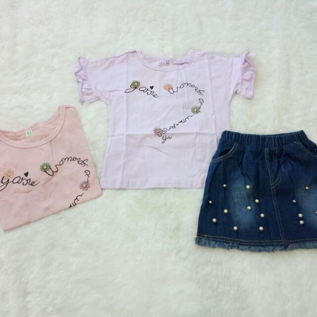 Setelan Import Anak Perempuan, Babies & Kids, Girls' Apparel on Carousell