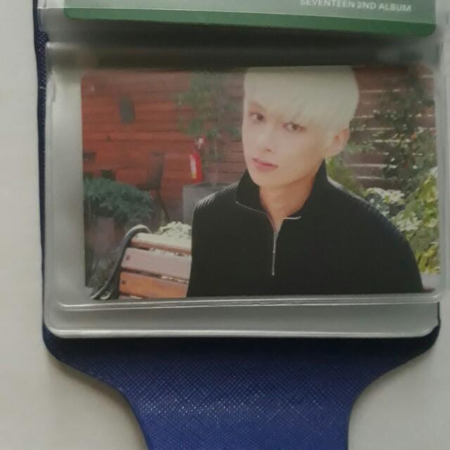 Seventeen Jun Teen, Age Photocard (Green Ver.)