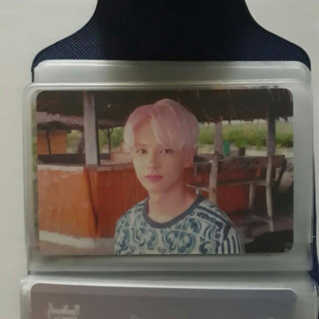 Seventeen Jun Teen, Age Photocard (Orange Ver.)