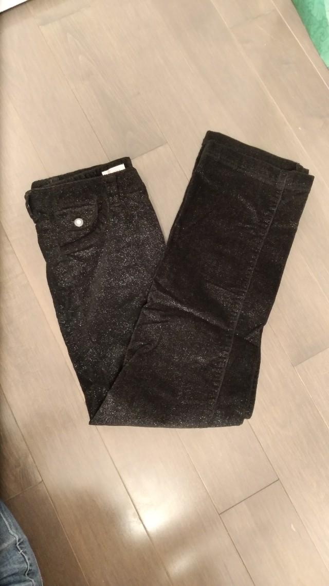 Shiny Black Jeans Pants