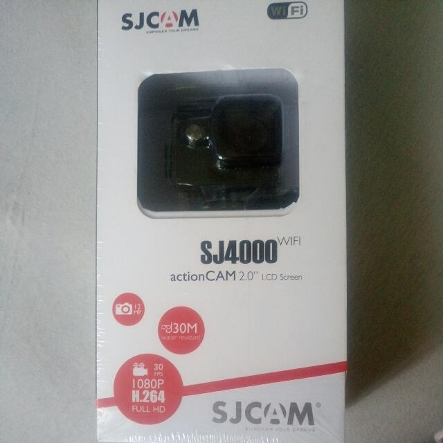 Repriced! SJ4000 Action Camera With WIFI