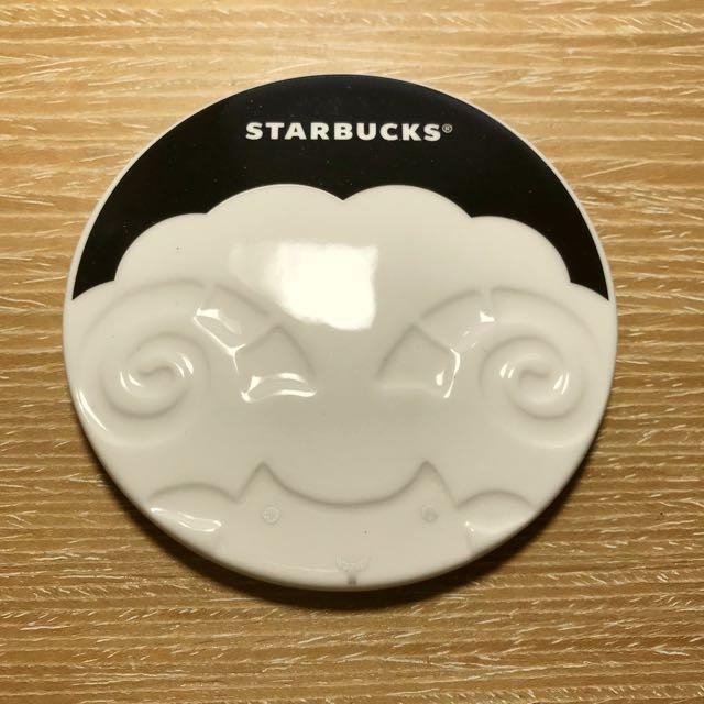 Starbucks 星巴克羊造型杯墊 #幫我除舊佈新