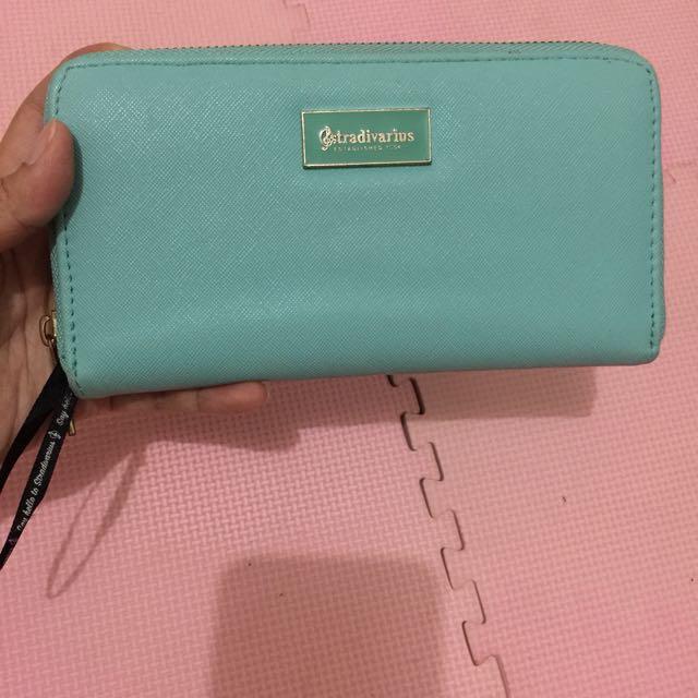 Stradivarius pastel wallet