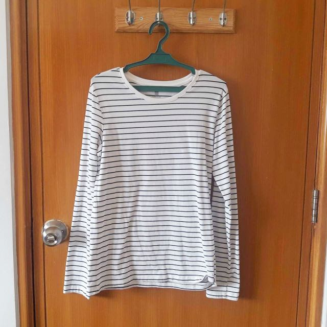 Stripes Long Sleeve Blouse