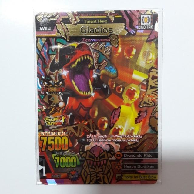 Strong Animal Kaiser M3 Ultra Rare Card, Toys & Games ...