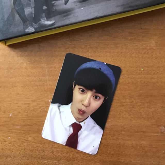 SUHO LOVE ME RIGHT OFFICIAL PC