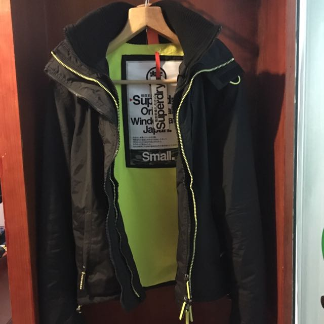 Superdry 防風防潑水外套 衝鋒衣 好看百搭 時尚有型