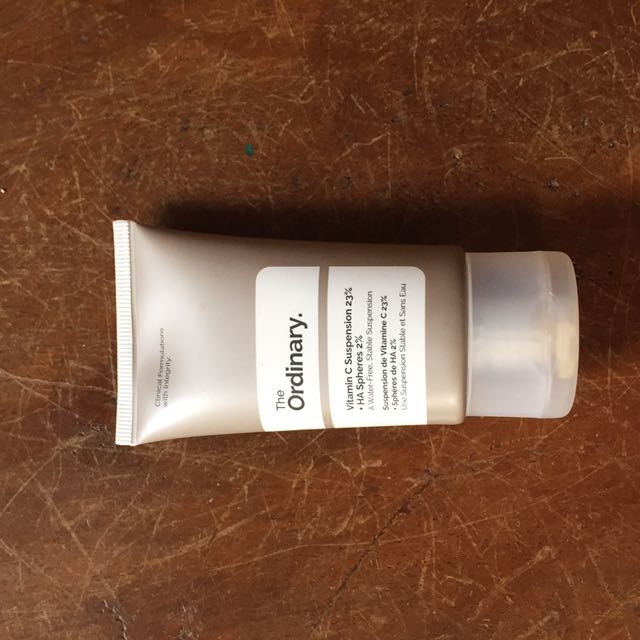 The ordinary vitamin c suspension