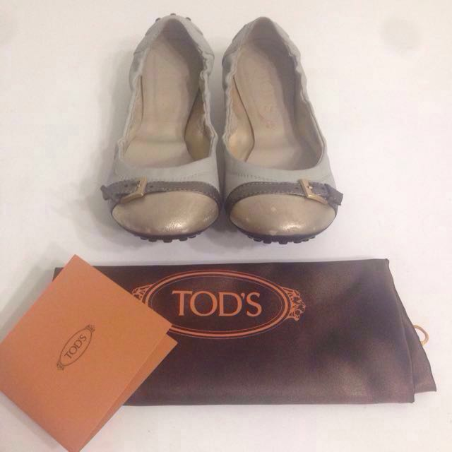 TODS Ballerina flats Shoes Authentic