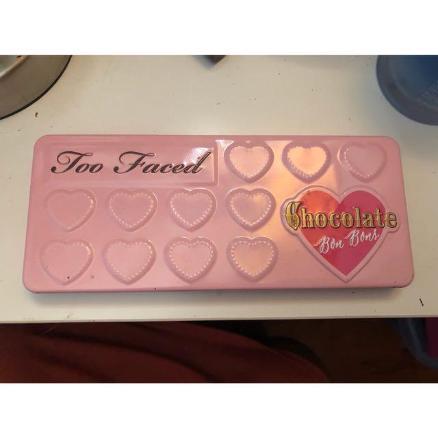 Toofaced bonbons eyeshadow palette