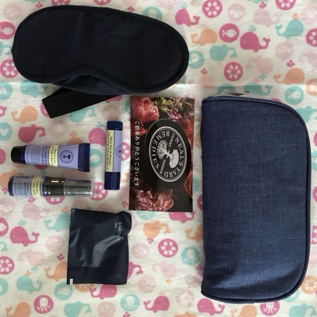 travel/airplane vanity  kit( Neal's YArd Covent Garden remedies)Repriced!