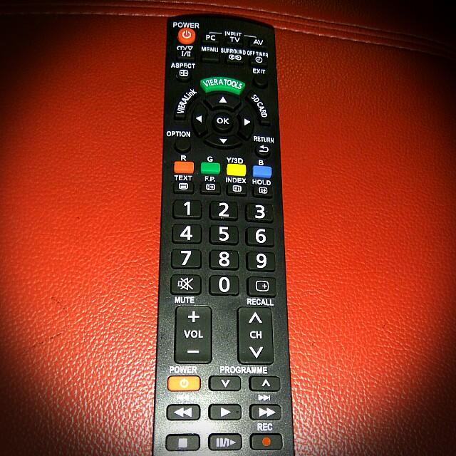 Tv Remote Control for all Panasonic tv.