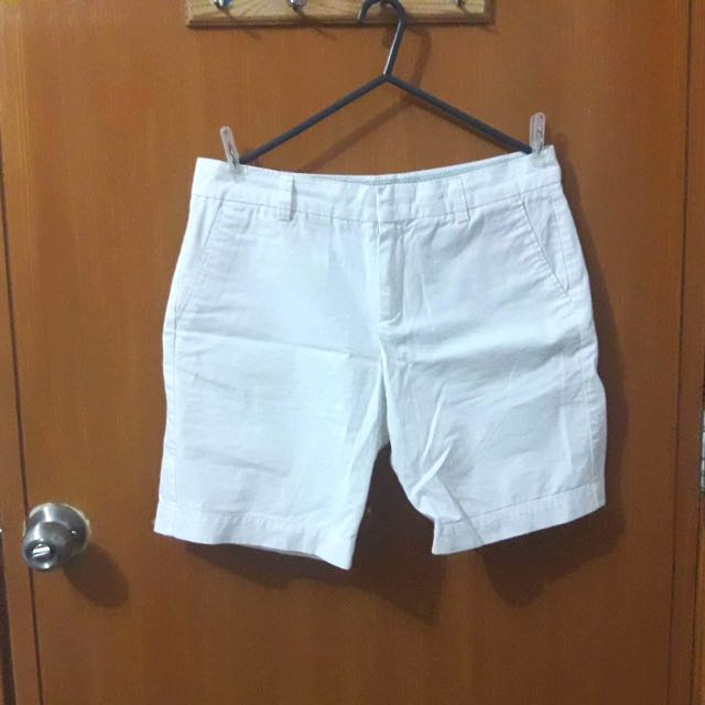 Uniqlo White Shorts