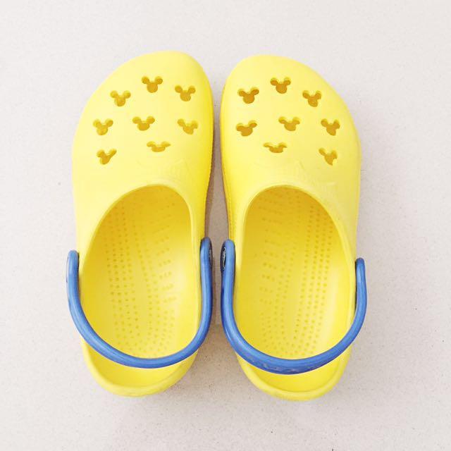 UNISEX! Crocs Disney Yellow