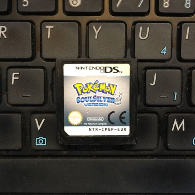 Used NDS Pokemon Soul Silver EUR Version