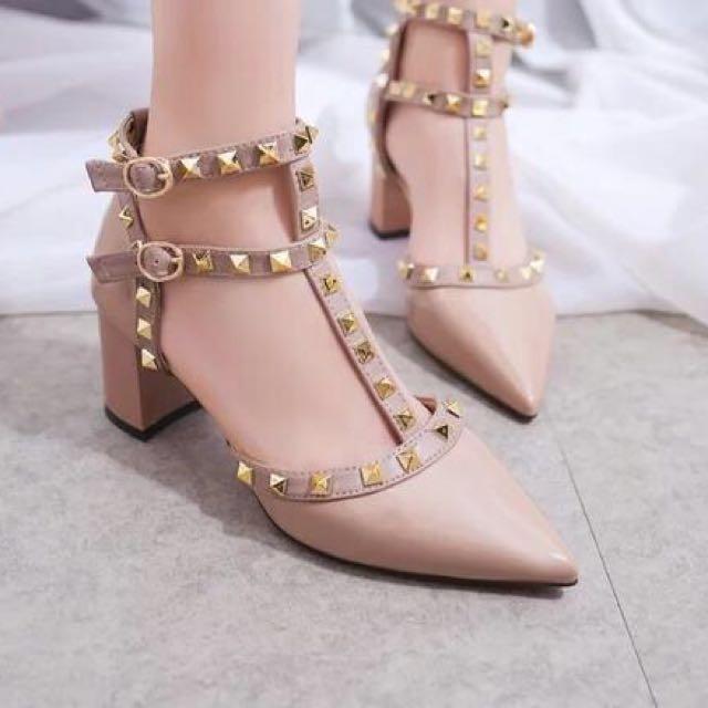 Valentino stud heels