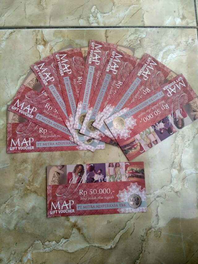 Voucher MAP 50rb Only at Mall Taman Anggrek