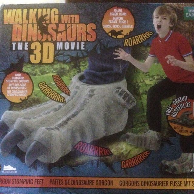 walking with Dinasour in 3D movie