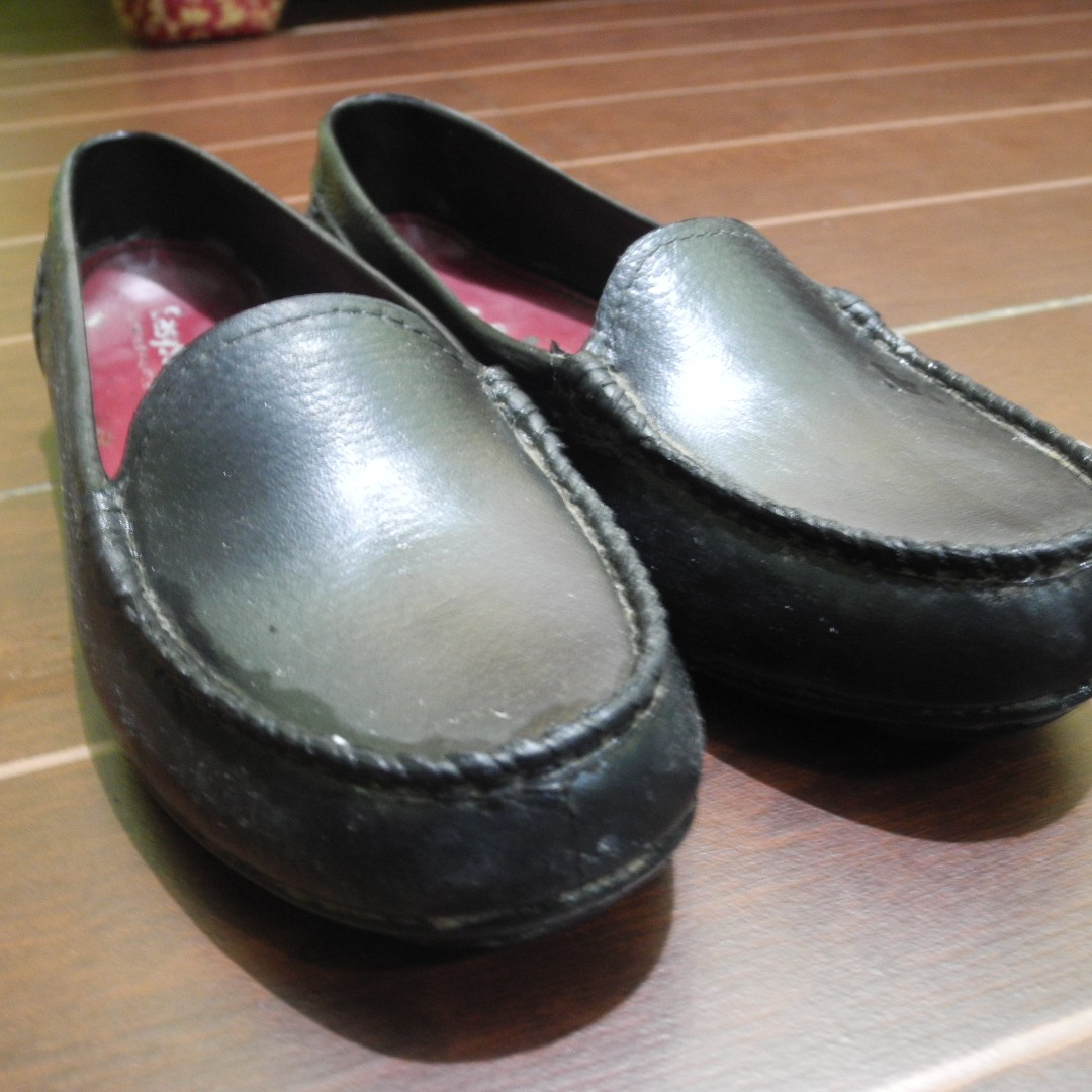 Waterproof Black Shoes By World Balance