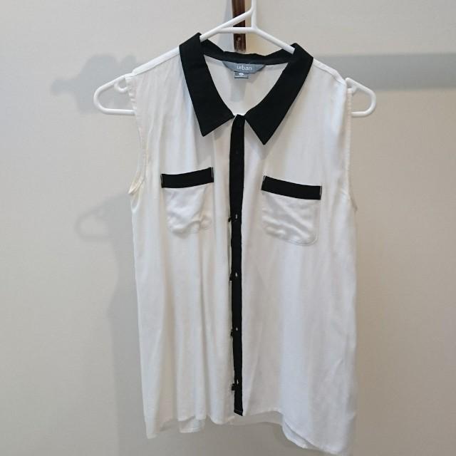 white blouse xs