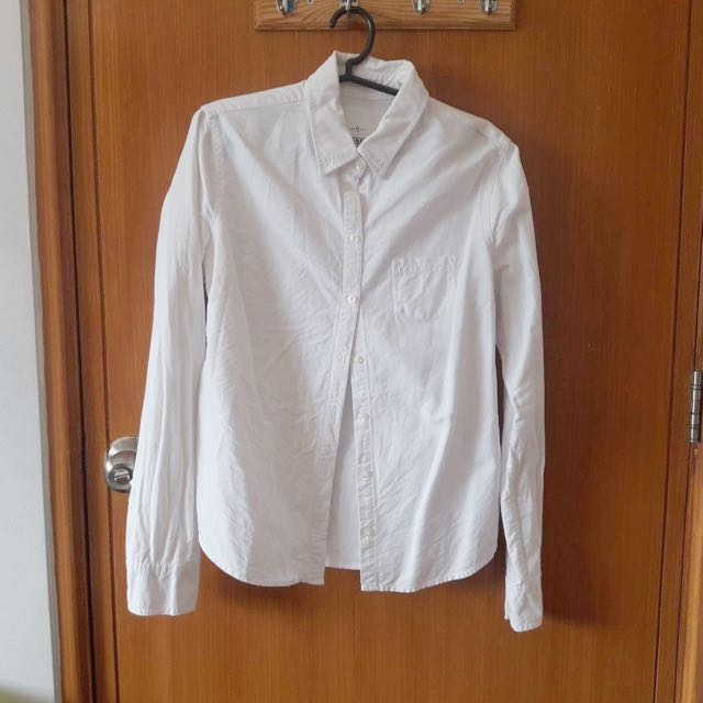 Mossimo White Long Sleeve