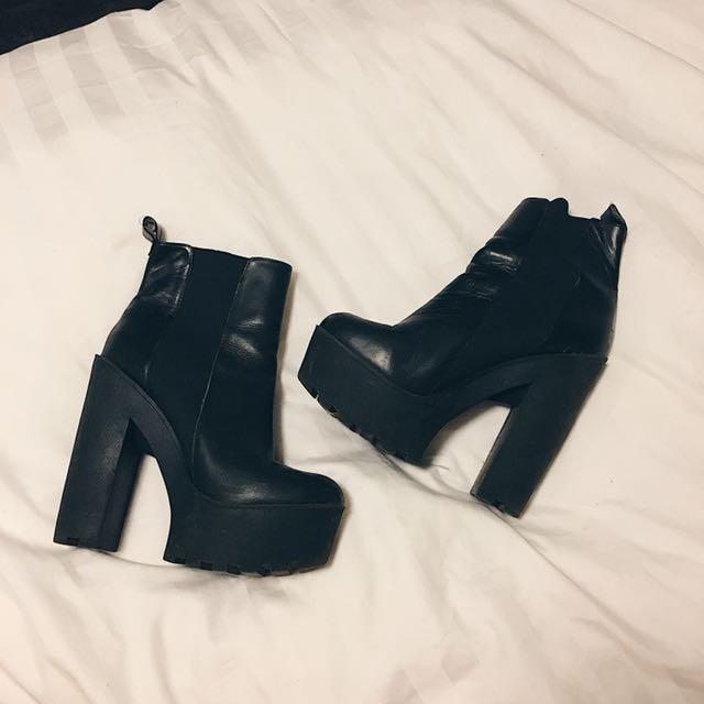 Windsor Smith Platform Ankle Boots