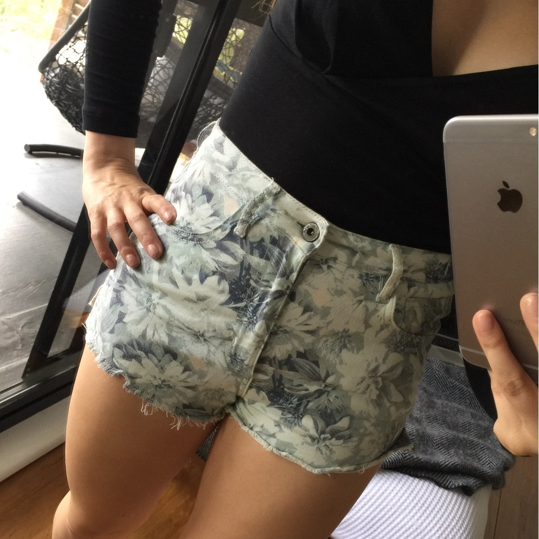 Wish Denim Shorts (Size 24)