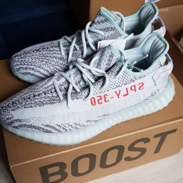 finest selection 58f8a 94b8a Yeezy Boost 350 V2 Blue Tint UK11 US11.5