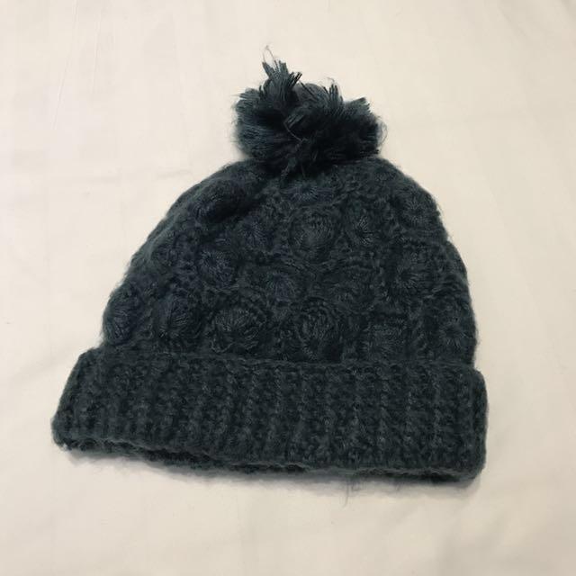 ZARA 深綠色毛帽 #冬季衣櫃出清 #有超取最好買 #舊愛換新歡