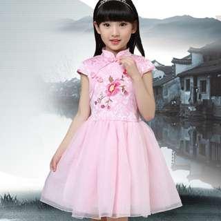 CNY 2018 - Oriental Princess Cheongsam for girls