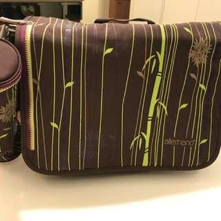 德國Allerhand messenger diaper bag 多功能媽媽袋
