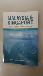 "Books ~ Malaysia & Singapore ""The Land Reclamation Case"""