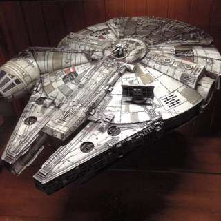 Customized Millennium Falcon by Hasbro (Star Wars The Force Awakens)