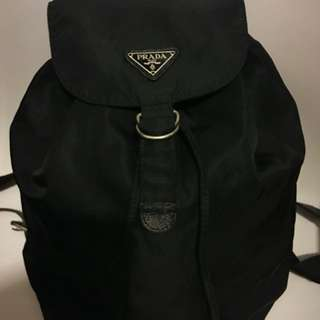 Prada Big Unisex Men Backpack Bag 背包