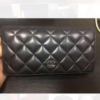 Chanel 長銀包 wallet