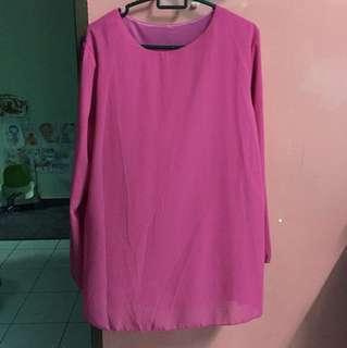 Chiffon Pink Blouse