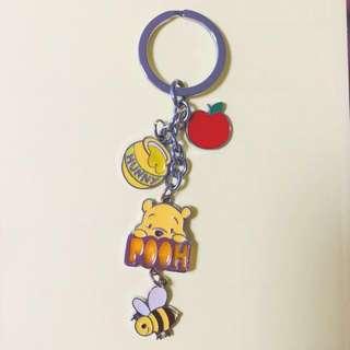 正版小熊維尼Winnie the Pooh鎖匙扣